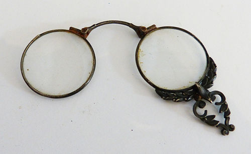 Antique silver glasses