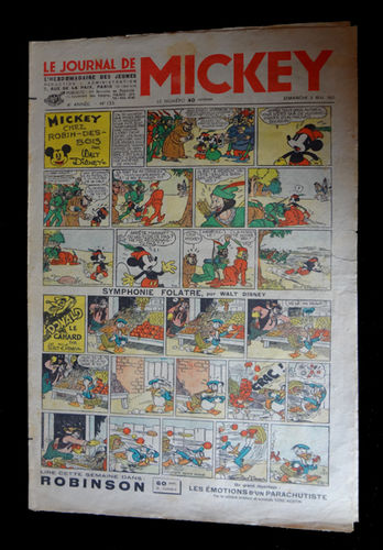 Revista Le Journal de Mickey núm. 133