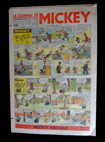 Revista Le Journal de Mickey núm. 238