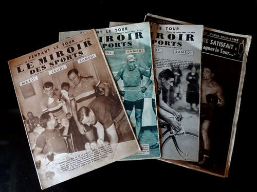 Revista Le Miroir des sports, pendant le Tour