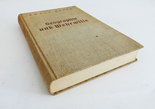 Book on geography and military will of 1934