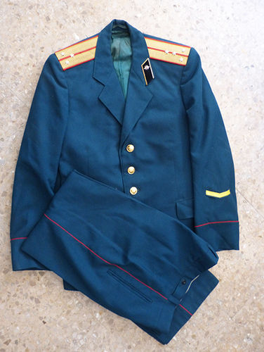 Captain's uniform of the USSR