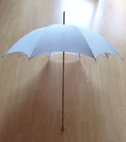 Old promenade umbrella
