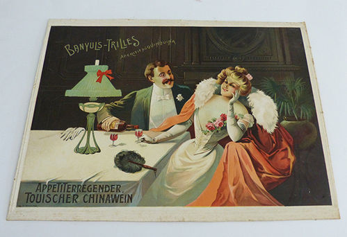 Advertising poster of Banyuls-Trilles