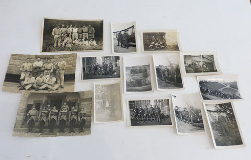 Lot of 14 military photographs