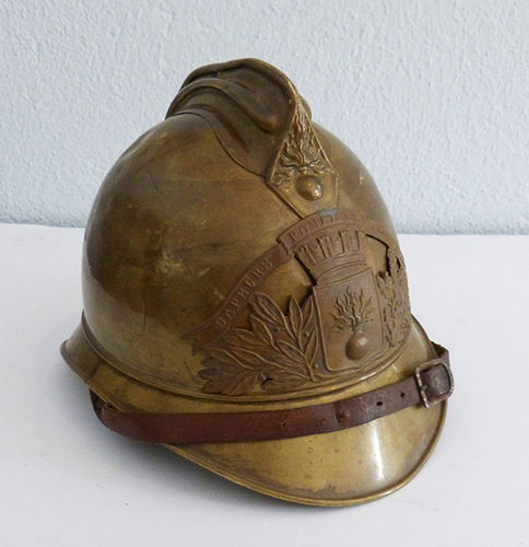 Helmet of firemen (France). Model of 1885