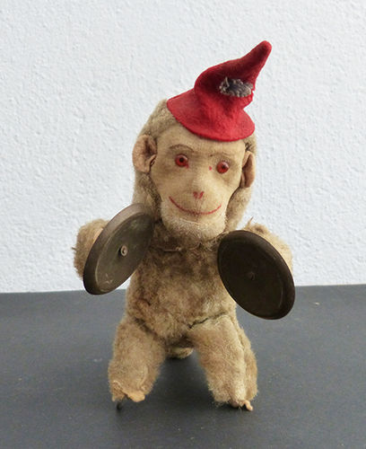 Marx Karl monkey with cymbals