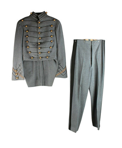Americana i pantalons de l'acadèmia militar West Point (USA)