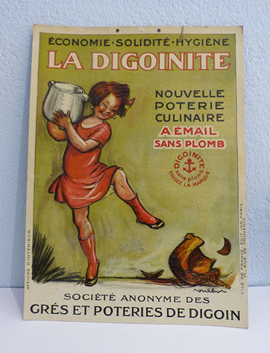 La Digoinite advertising poster