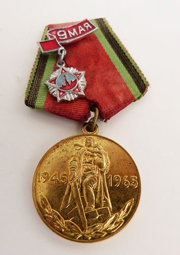 "Soviet Jubilee Medal ""Twenty Years of Victory in the Great Patriotic War 1941–1945"""