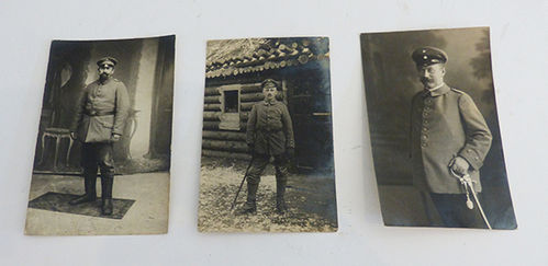 Lot of 3 military photographs