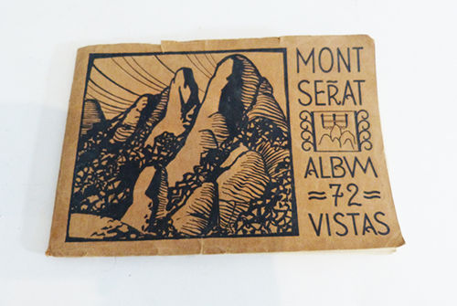 Booklet with 72 views of Montserrat