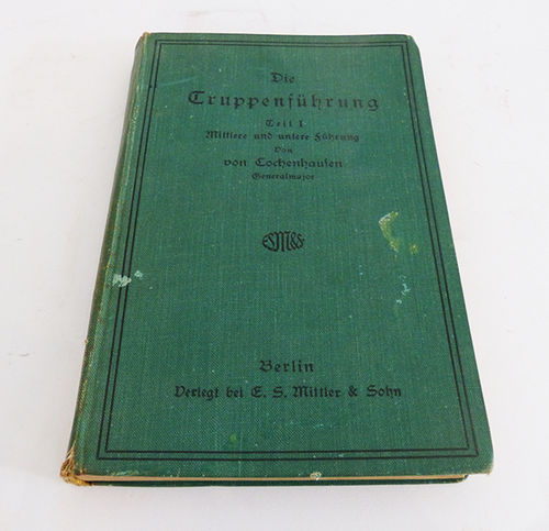 1931 Military Techniques Book