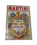 Martini advertising plate