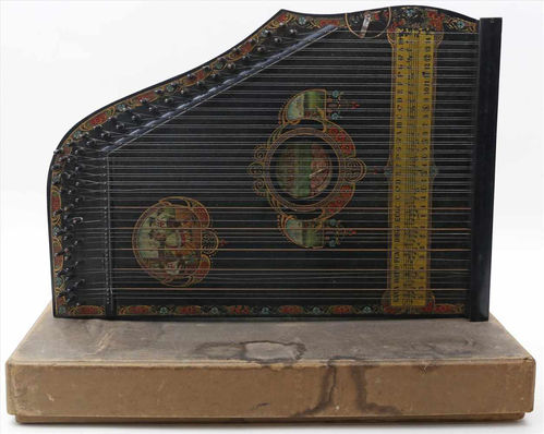 Mandolin zither from 1900