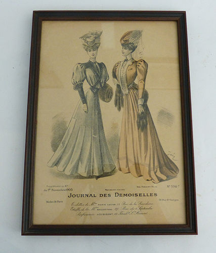 Fashion print Journal des Demoiselles (1905)