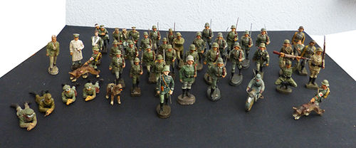 Elastolin Soldiers Lot