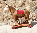 Toy horse on wheels (1900)