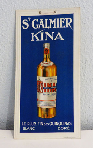 St Galmier Kina advertising poster