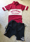 Vintage cycling jersey + panys from the 60s
